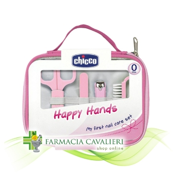 Chicco Happy Hands Set Unghie Rosa
